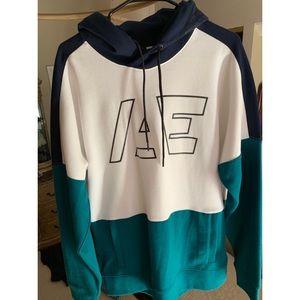 AE Color Block Pullover Hoodie